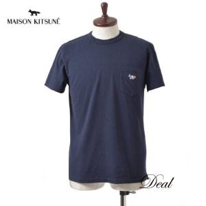 メゾンキツネ トリコロール フォックス Tシャツ